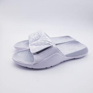 Jordan Hydro 7 Slides Men Slippers Sandals White P